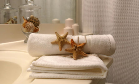 bath room accessories-home staging