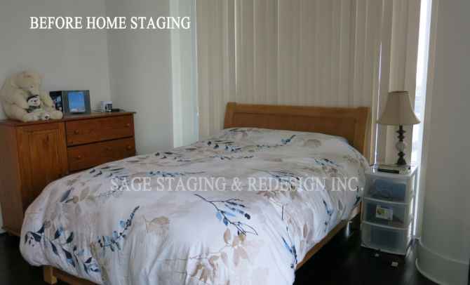 BEFORE HOME STAGING-CONDO-TORONTO