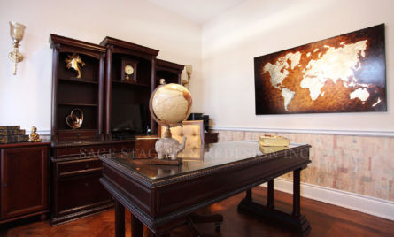 HOME OFFICE DESIGN BY SAGE STAGING AND REDESIGN PROFESSIONAL TEAM IN TORONTO AND GTA