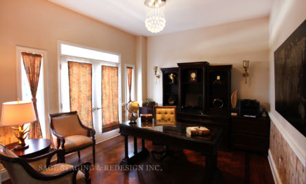 HOME OFFICE- DESIGN BY SAGE STAGING & REDESIGN -TORONTO PROFESSIONAL