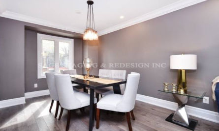 Home staging by SAGE STAGING & REDESIGN INC.-VACANT HOUSE