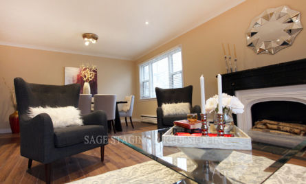 Home Staging-vacant House-Toronto-Sage Staging & Redesign Inc