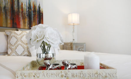 BEDROOM -HOME STAGING TORONTO-SAGE STAGING & REDESIGN INC.