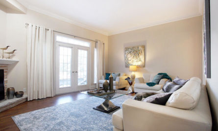 SAGE STAGING AND REDESIGN-LIVING ROOM DESIGN -HOME STAGING