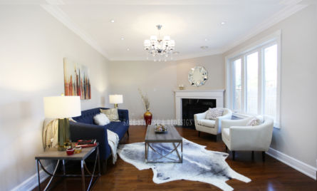 FAMILY ROOM HOME STAGING TORONTO GTA
