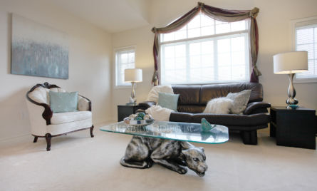 FAMILY ROOM HOME STAGING- STAGED SAGE STAGING & REDESIGN INC TORONTO GTA
