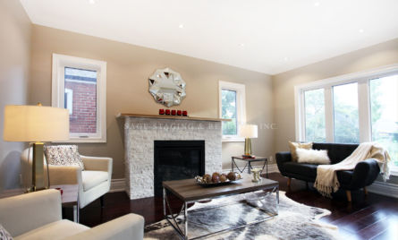 Family Room-Professional Vacant Home Staging-Toronto
