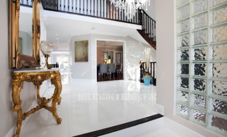 HALLWAY HOME STAGING REDESIGN TORONTO GTA