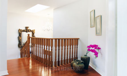 HALLWAY HOME STAGING STAGED BY SAGE STAGING & REDESIGN INC TORONTO GTA