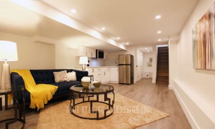 HOME STAGING BASEMENT-FAMILY ROOM AREA-TORONTO & GTA REDESIGN