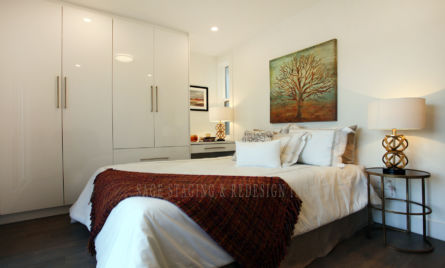 HOME STAGING BEDROOM TORONTO & GTA REDESIGN-DECORE
