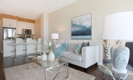 HOME STAGING -CONDO-LIVING ROOM-MISSISSAUGA-GTA-TORONTO