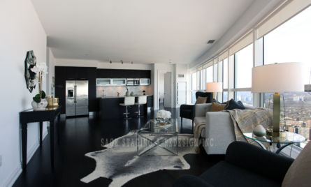 HOME STAGING, CONDO, TORONTO, DESIGN, FAMILY ROOM, KITCHEN