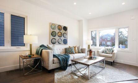 HOME STAGING LIVING ROOM TORONTO GTA-HOUSE AND CONDO