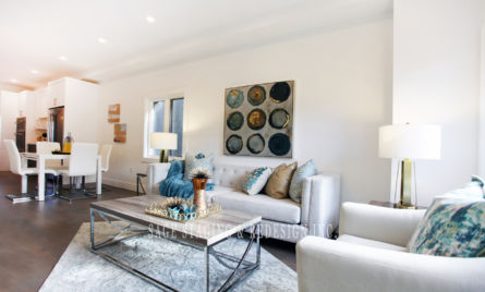 HOME STAGING-LIVING ROOM Toronto and GTA-condo and house