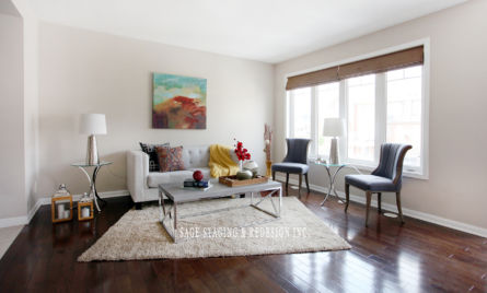 HOME STAGING -Town house-SAGE STAGING & REDESIGN INC.