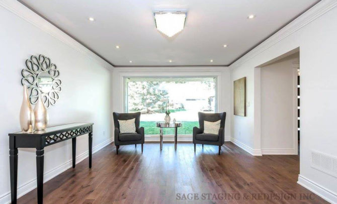 HOME STAGING-VACANT HOUSE-LUXURY-TORONTO-GTA-LIVING ROOM CORNER