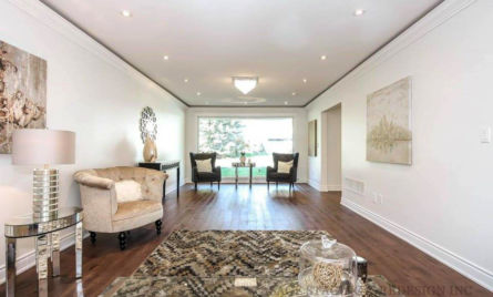 HOME STAGING-VACANT HOUSE-LUXURY-TORONTO-GTA-LIVING ROOM