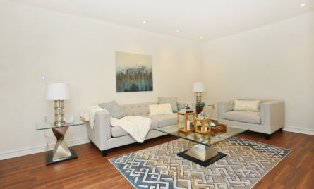 after home staging -Family room