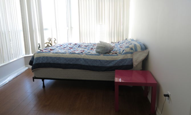 Before home staging-Bed room