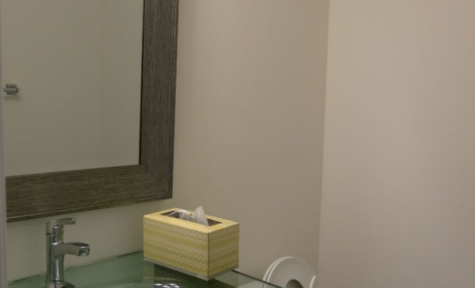 before staging-powder room