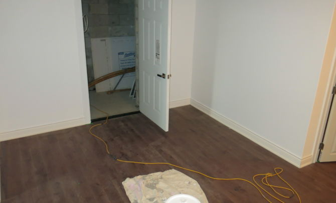 Hallway-before staging