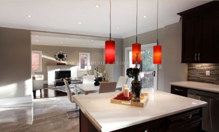Kitchen-Eating room-Family Room-Home Staging-Toronto
