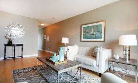 TORONTO-LIVING ROOM HOME STAGING