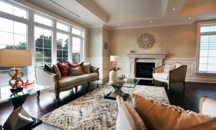 LIVING ROOM HOME STAGING FAMILY ROOM