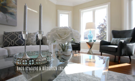 LIVING ROOM HOME STAGING TORONTO GTA