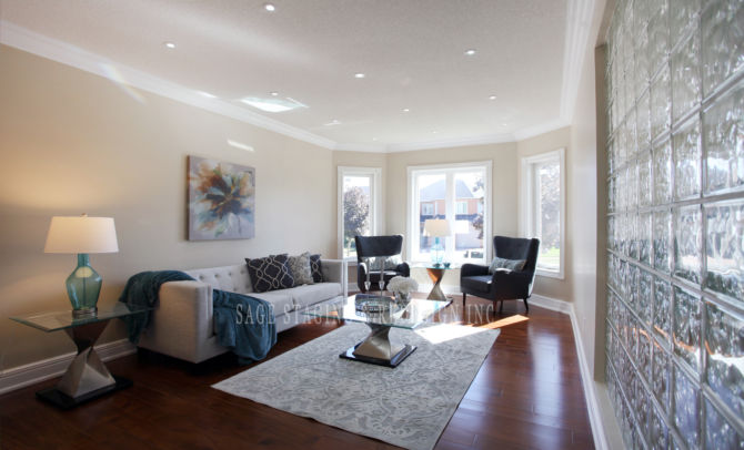 LIVING ROOM HOME STAGING TORONTO GTA Richmond hill