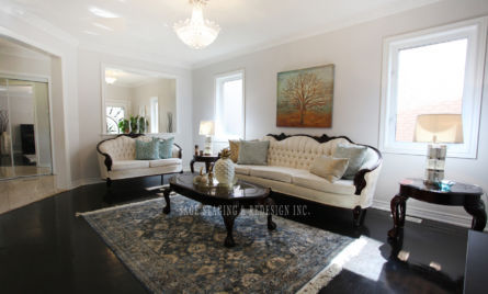LIVING ROOM  HOME STAGING STAGED BY SAGE STAGING & REDESIGN INC