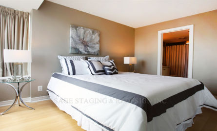 TORONTO-MASTER BEDROOM HOME STAGING