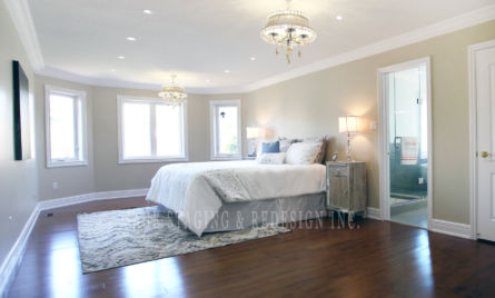 MASTER BEDROOM HOME STAGING & REDESIGN TORONTO GTA