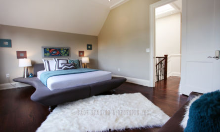 MASTER BEDROOM HOME STAGING TORONTO