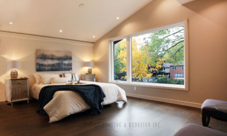 MASTER BEDROOM, HOME STAGING, TORONTO, GTA, SAGE STAGING & REDESIGN INC.