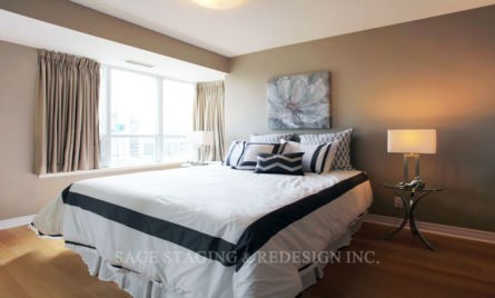 TORONTO-MASTER BEDROOM STAGING
