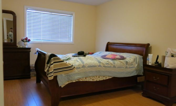 Before Staging-Master Bedroom