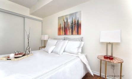 Bedroom Home staging by Sage Staging & Redesign Inc.