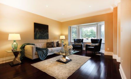 Living room-Home Staging-Professional-Toronto
