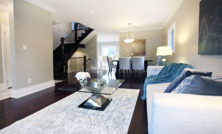 Living room-Home staging-Toronto