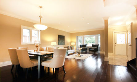 Living room-Dining room-Home staging-Toronto
