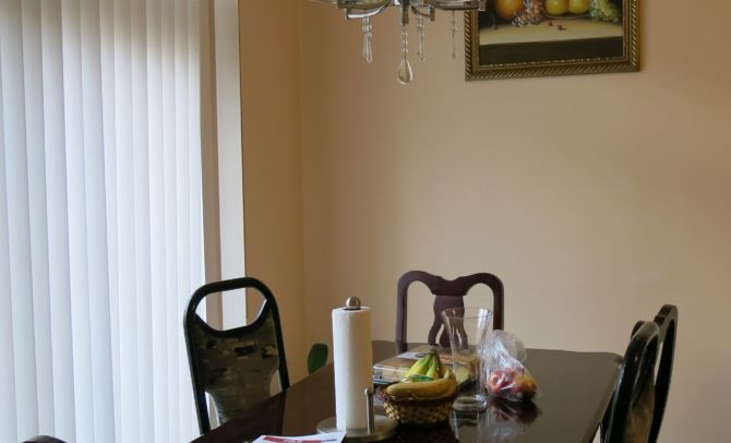 Dinning room -before home staging